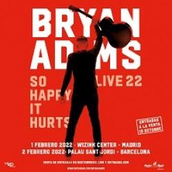 Bryan Adams in Barcelona 1-3 Feb 2022