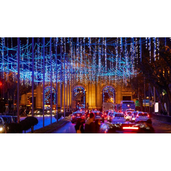 Christmas Lights and Shopping in Madrid 13th - 16th Dec