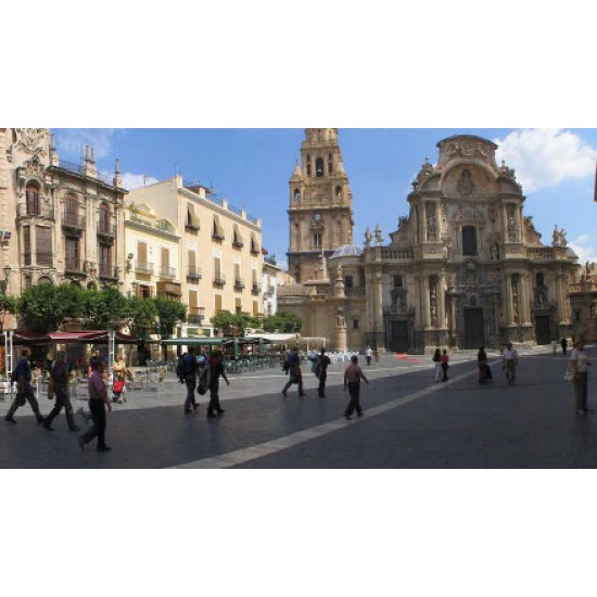 Murcia City On Market Day
